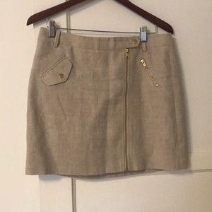 JCrew linen skirt size 8